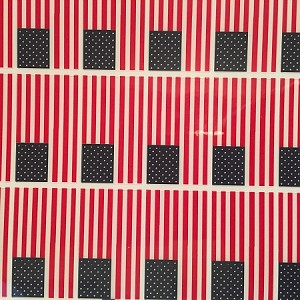 American Flag Decals (Sold by the sheet, Each sheet has 33 flags)